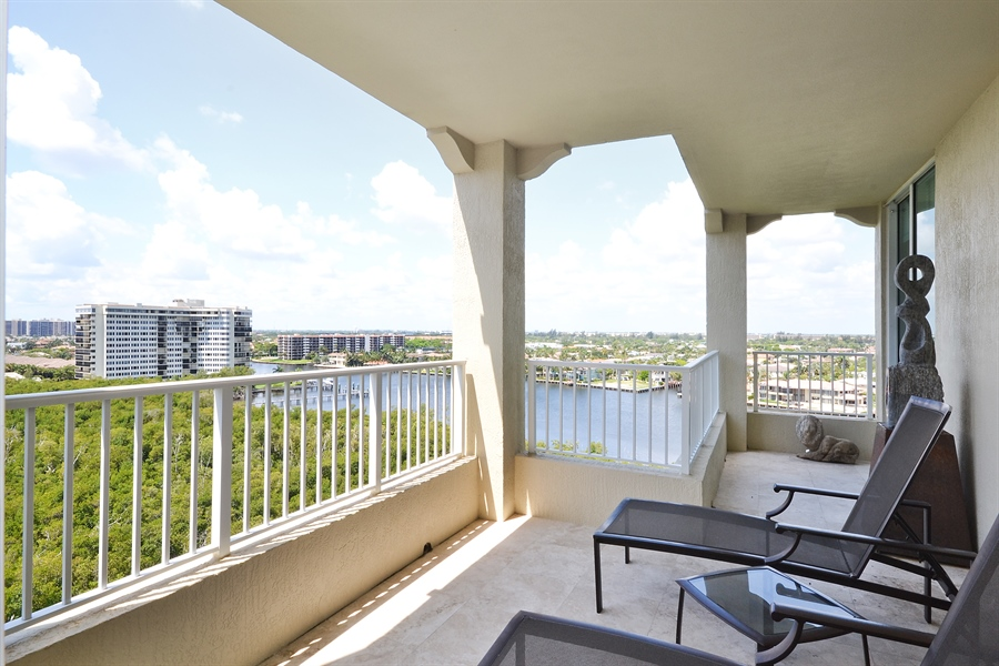 Real Estate Photography - 3720 S Ocean Blvd, Apt 901, Highland Beach, FL, 33487 - Rear View