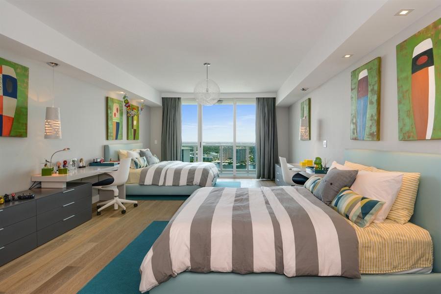 Real Estate Photography - 3301 NE 183rd St, Unit 3008, Aventura, FL, 33160 - Bedroom