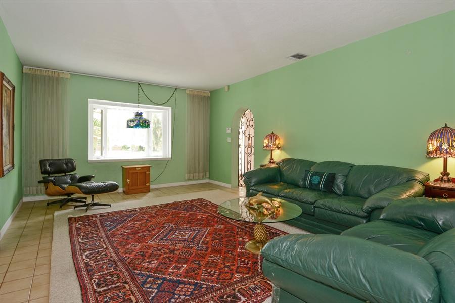 Real Estate Photography - 1504 Rodman St, Hollywood, FL, 33020 - Living Room