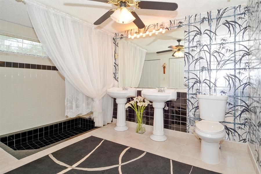 Real Estate Photography - 1504 Rodman St, Hollywood, FL, 33020 - Master Bathroom