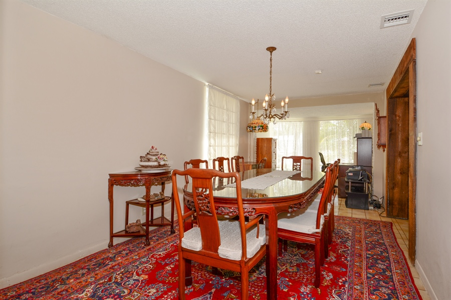 Real Estate Photography - 1504 Rodman St, Hollywood, FL, 33020 - Dining Room