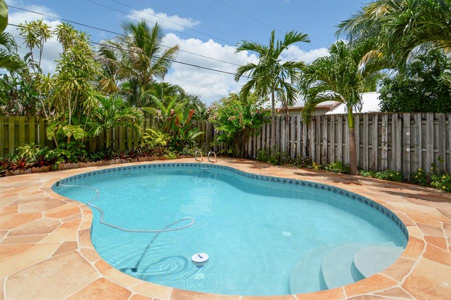 Real Estate Photography - 1504 Rodman St, Hollywood, FL, 33020 - Pool