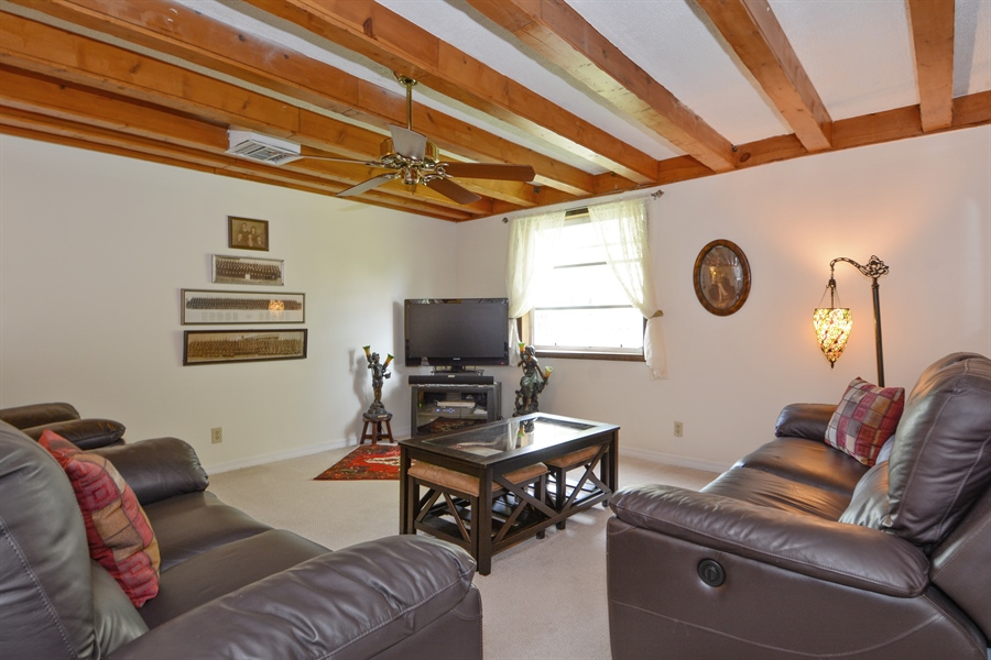 Real Estate Photography - 1504 Rodman St, Hollywood, FL, 33020 - Family Room