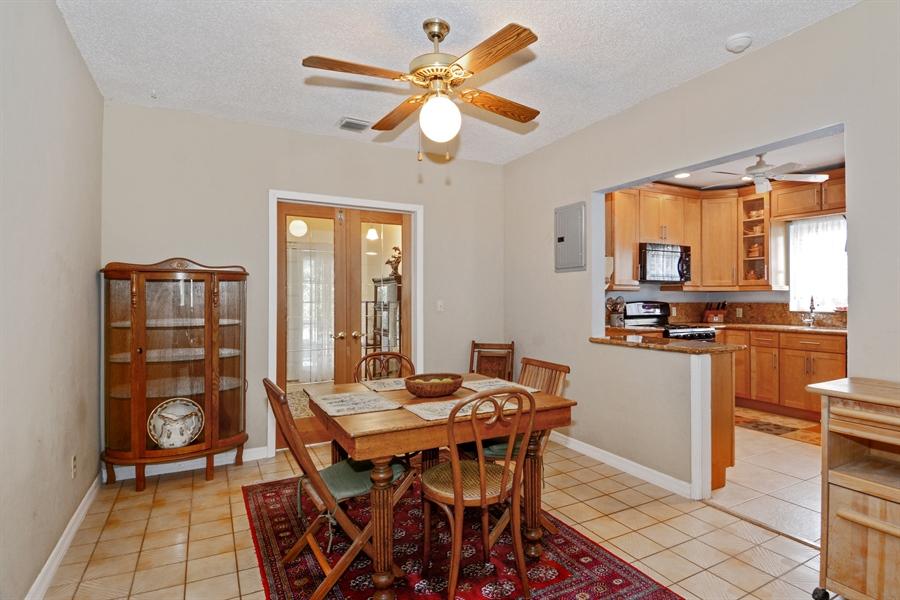 Real Estate Photography - 1504 Rodman St, Hollywood, FL, 33020 - Breakfast Room