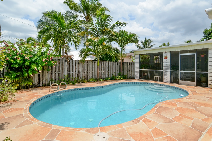 Real Estate Photography - 1504 Rodman St, Hollywood, FL, 33020 - Rear View