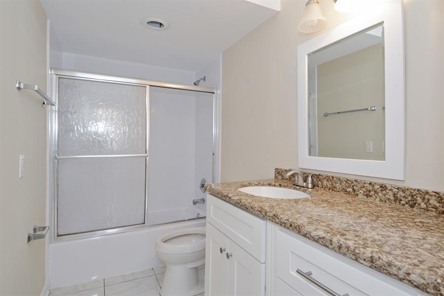 Real Estate Photography - 1825 S Ocean Dr, Unit 404, Hallandale Beach, FL, 33009 - Master Bathroom