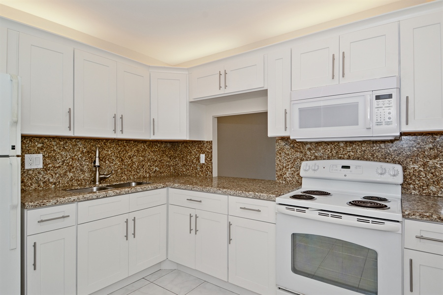 Real Estate Photography - 1825 S Ocean Dr, Unit 404, Hallandale Beach, FL, 33009 - Kitchen