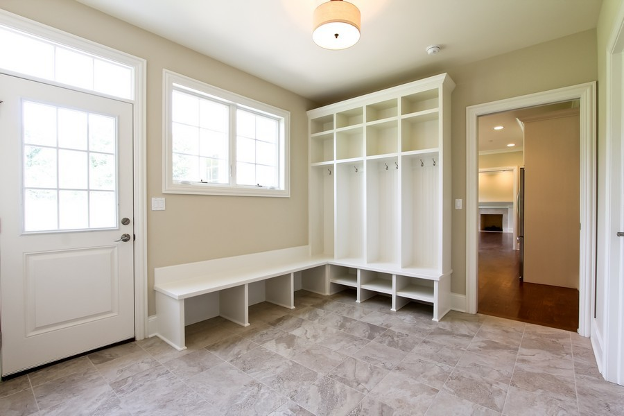 Real Estate Photography - Enclave Of Heritage Estates, Lake Barrington, IL, 60010 - Mud Room
