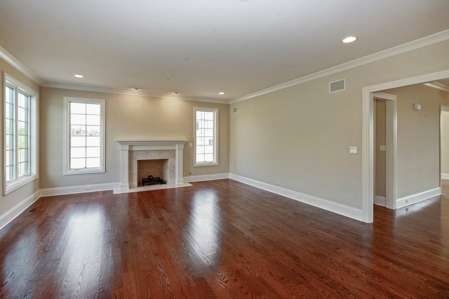 Real Estate Photography - Enclave Of Heritage Estates, Lake Barrington, IL, 60010 - Family Room