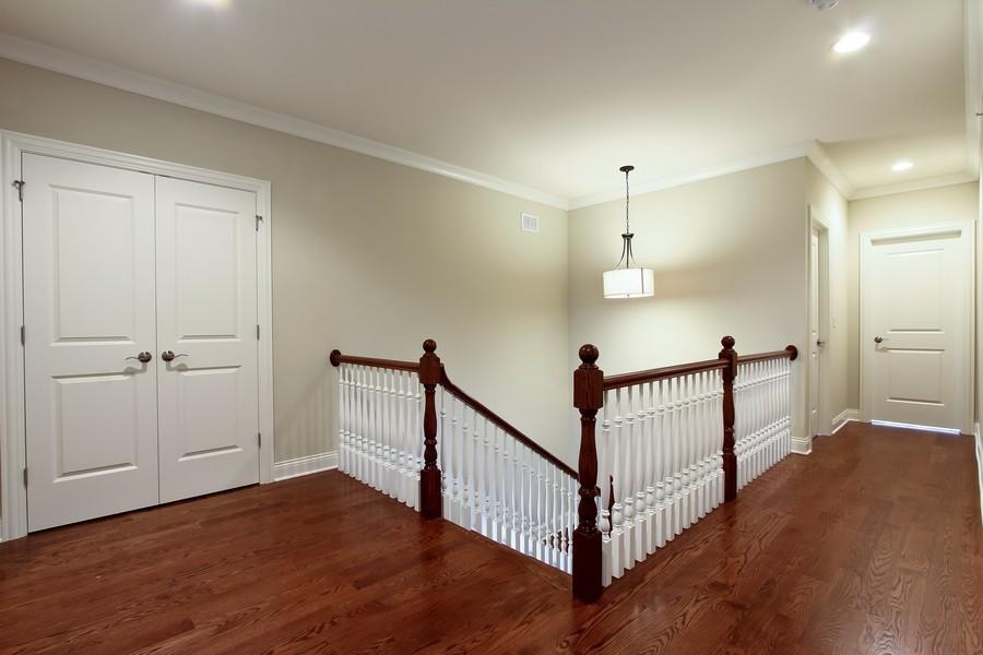 Real Estate Photography - Enclave Of Heritage Estates, Lake Barrington, IL, 60010 - Upper Hallway