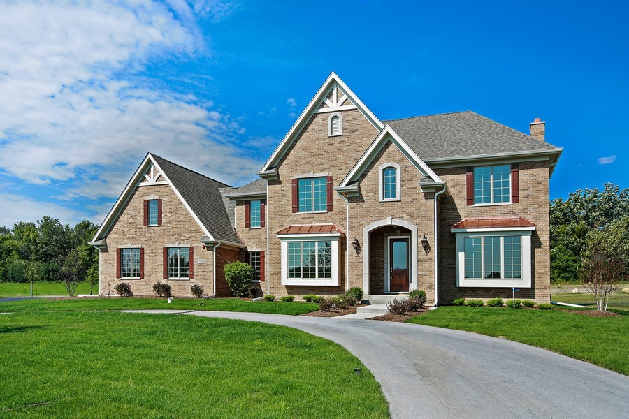 Real Estate Photography - Enclave Of Heritage Estates, Lake Barrington, IL, 60010 - Front View