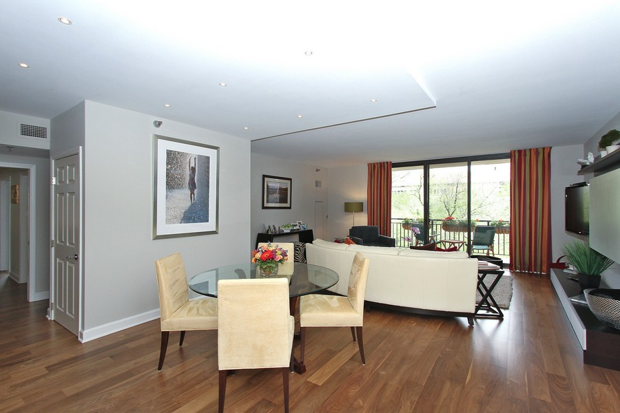 Real Estate Photography - 55 W Delaware Pl, Unit 501, Chicago, IL, 60610 - Dining