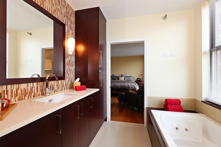 Real Estate Photography - 55 W Delaware Pl, Unit 501, Chicago, IL, 60610 - Master Bathroom