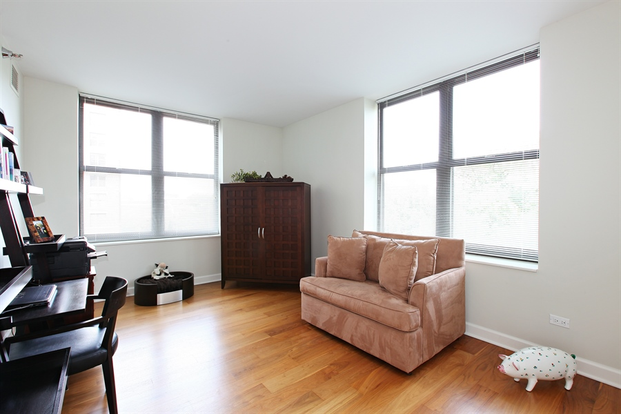 Real Estate Photography - 55 W Delaware Pl, Unit 501, Chicago, IL, 60610 - Bedroom