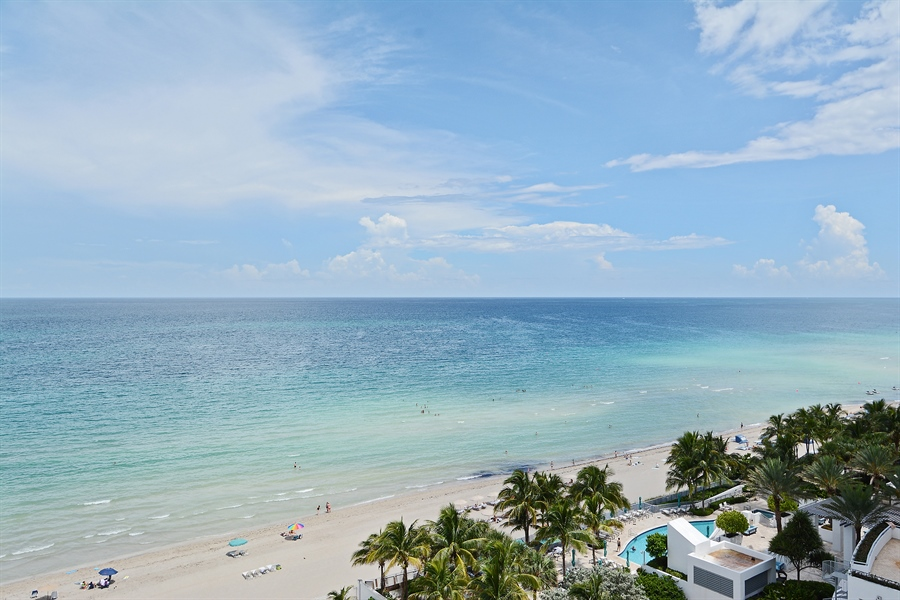 Real Estate Photography - 3505 S Ocean Dr, Unit 1116, Hollywood, FL, 33019 - Ocean View