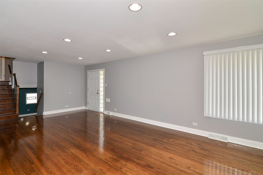 Real Estate Photography - 15026 Oak St, Dolton, IL, 60419 - Living Room