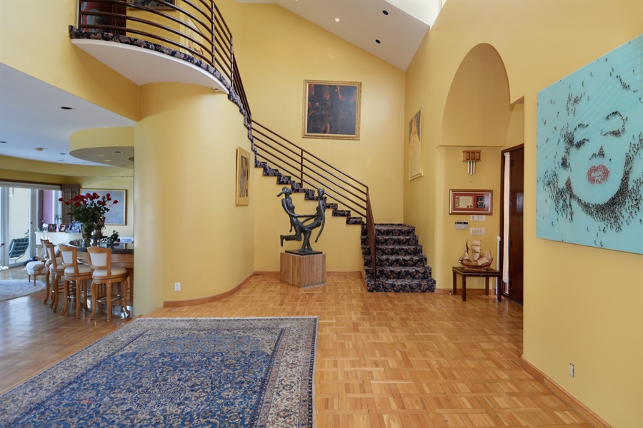 Real Estate Photography - 19565 NE 37th Ave, Aventura, FL, 33180 - Foyer