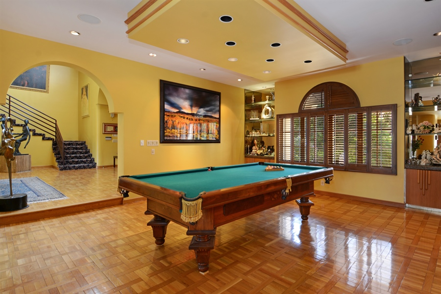 Real Estate Photography - 19565 NE 37th Ave, Aventura, FL, 33180 - Pool Room