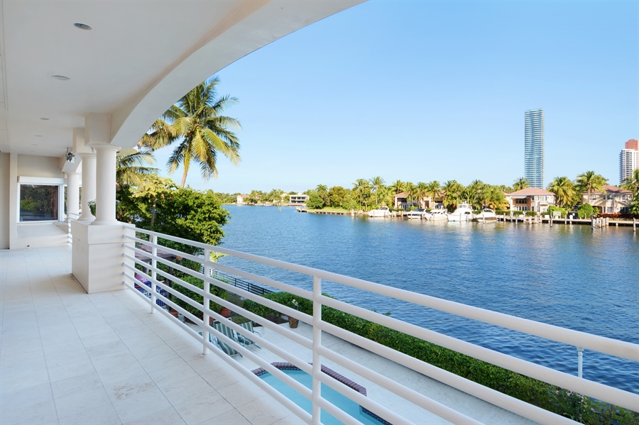 Real Estate Photography - 19565 NE 37th Ave, Aventura, FL, 33180 - Balcony