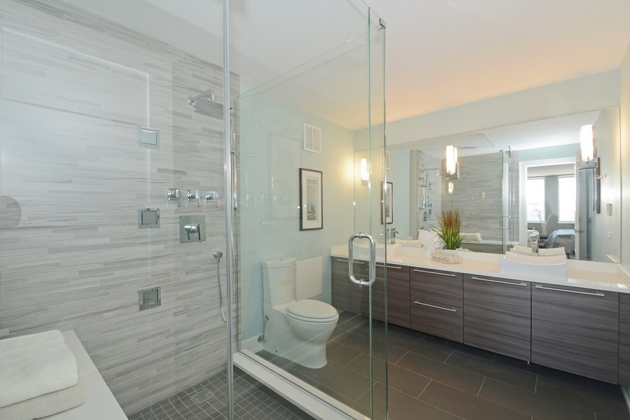 Real Estate Photography - 1110 N Lake Shore Dr, Unit 33S, Chicago, IL, 60611 - Master Bathroom