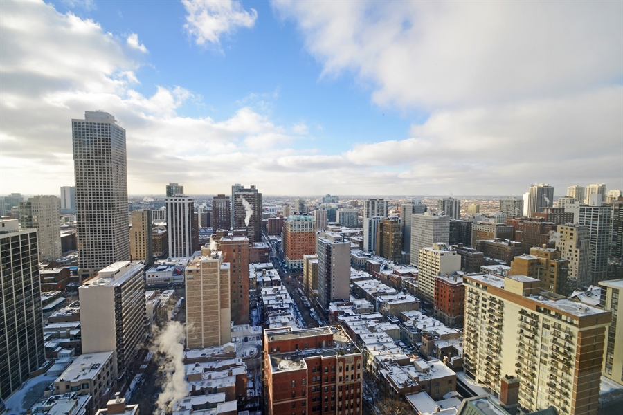 Real Estate Photography - 1110 N Lake Shore Dr, Unit 33S, Chicago, IL, 60611 - View