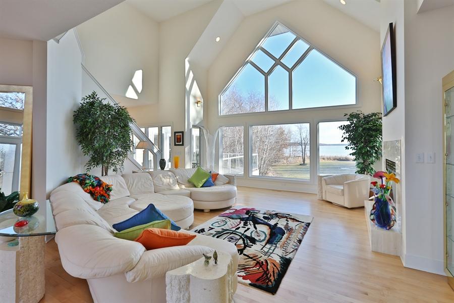Real Estate Photography - 17751 Oakland Drive NE, Ham Lake, MN, 55304 - Living Room