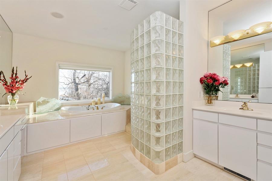 Real Estate Photography - 17751 Oakland Drive NE, Ham Lake, MN, 55304 - Master Bathroom