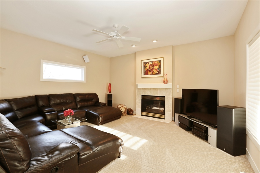 Real Estate Photography - 17751 Oakland Drive NE, Ham Lake, MN, 55304 - Family Room
