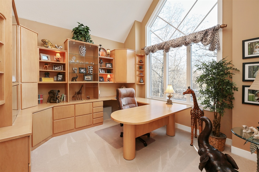 Real Estate Photography - 17751 Oakland Drive NE, Ham Lake, MN, 55304 - Office