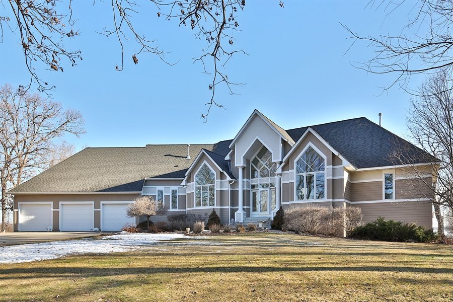 Real Estate Photography - 17751 Oakland Drive NE, Ham Lake, MN, 55304 - Front View