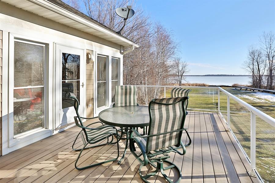 Real Estate Photography - 17751 Oakland Drive NE, Ham Lake, MN, 55304 - Deck