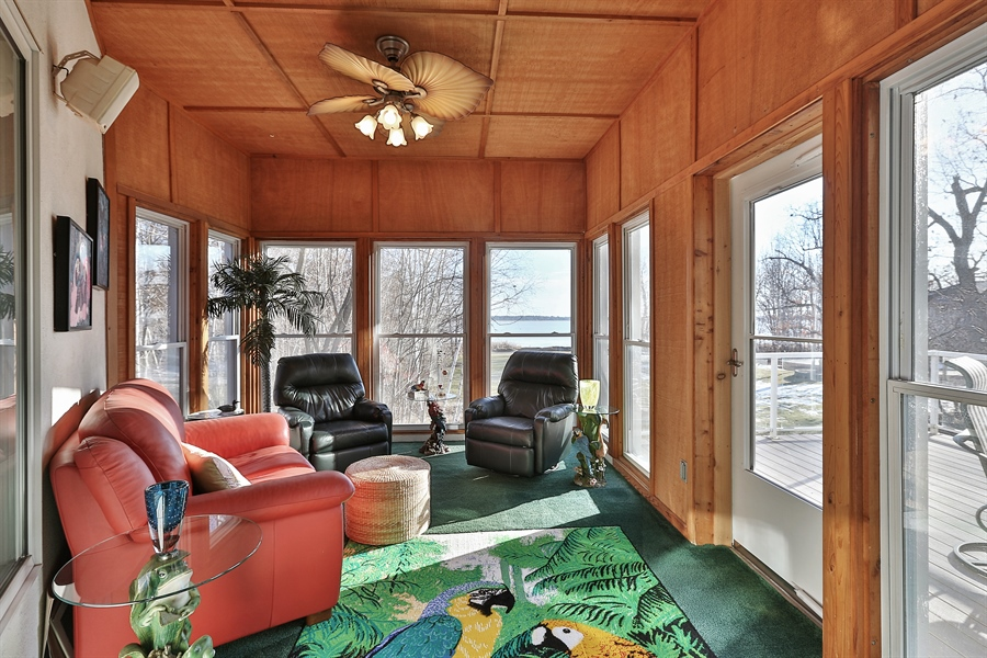 Real Estate Photography - 17751 Oakland Drive NE, Ham Lake, MN, 55304 - Sun Room