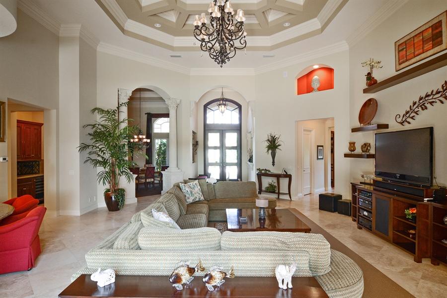 Real Estate Photography - 206 Via Sanremo, Port St Lucie, FL, 34984 - Living Room