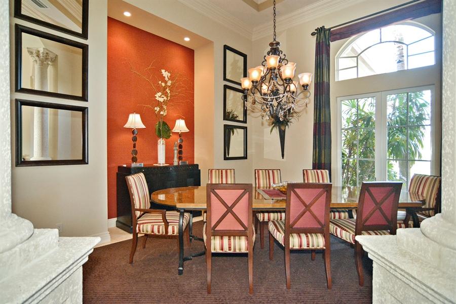 Real Estate Photography - 206 Via Sanremo, Port St Lucie, FL, 34984 - Dining Room