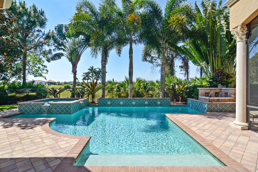 Real Estate Photography - 206 Via Sanremo, Port St Lucie, FL, 34984 - Pool
