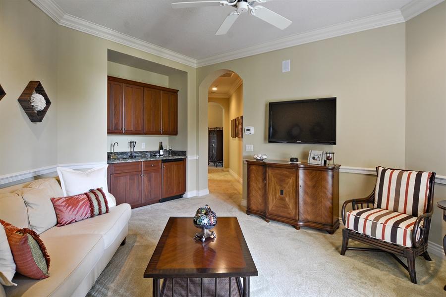Real Estate Photography - 206 Via Sanremo, Port St Lucie, FL, 34984 - Den