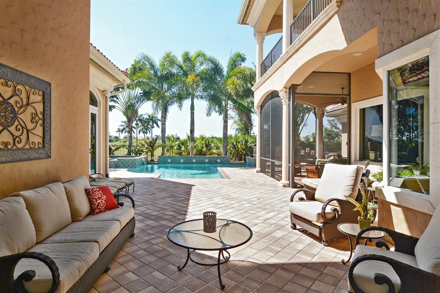 Real Estate Photography - 206 Via Sanremo, Port St Lucie, FL, 34984 - Lanai