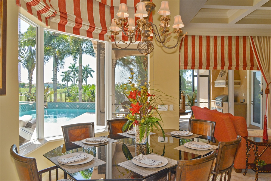 Real Estate Photography - 206 Via Sanremo, Port St Lucie, FL, 34984 - Breakfast Nook