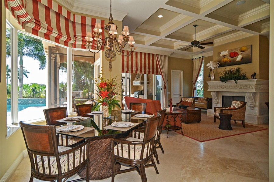 Real Estate Photography - 206 Via Sanremo, Port St Lucie, FL, 34984 - Family Room / Kitchen