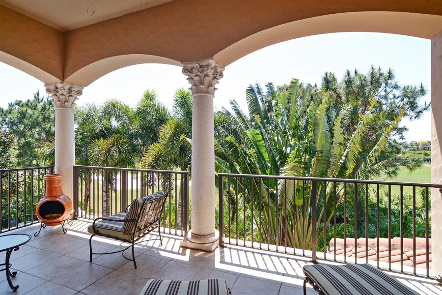 Real Estate Photography - 206 Via Sanremo, Port St Lucie, FL, 34984 - Balcony