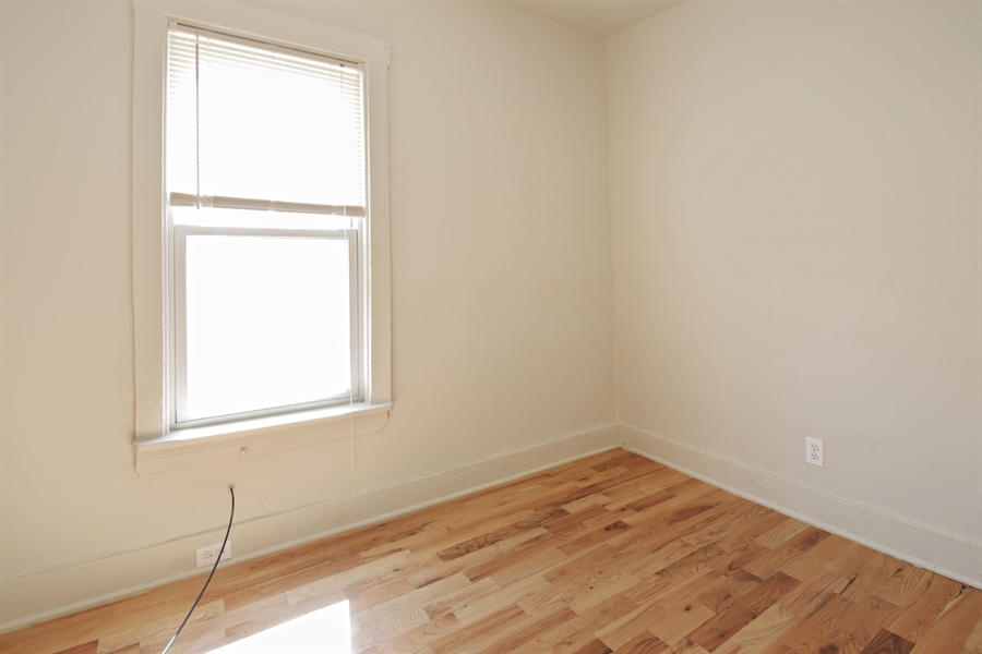 Real Estate Photography - 1818 Dodge Ave, Unit 1, Evanston, IL, 60201 - 2nd Bedroom