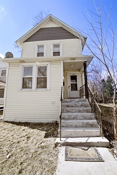 Real Estate Photography - 1818 Dodge Ave, Unit 1, Evanston, IL, 60201 - Front View