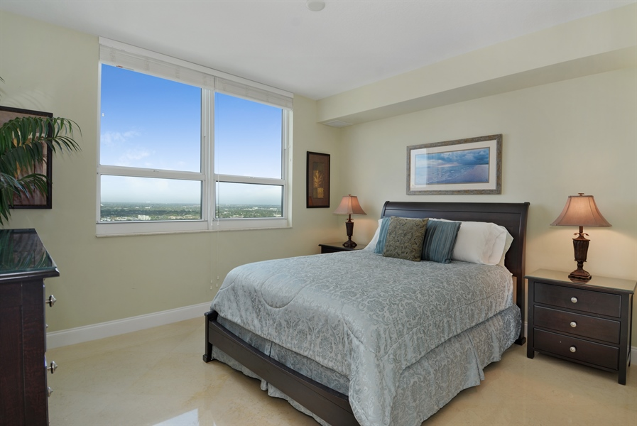 Real Estate Photography - 350 SE 2nd St, 2820, Fort Lauderdale, FL, 33301 - Bedroom