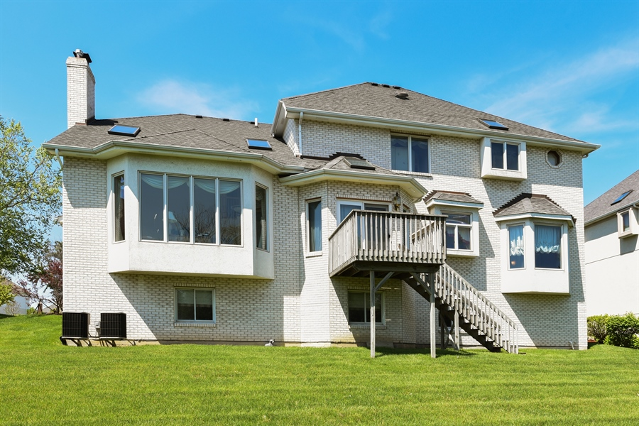 Real Estate Photography - 6812 Fieldstone Dr, Burr Ridge, IL, 60527 - Rear View
