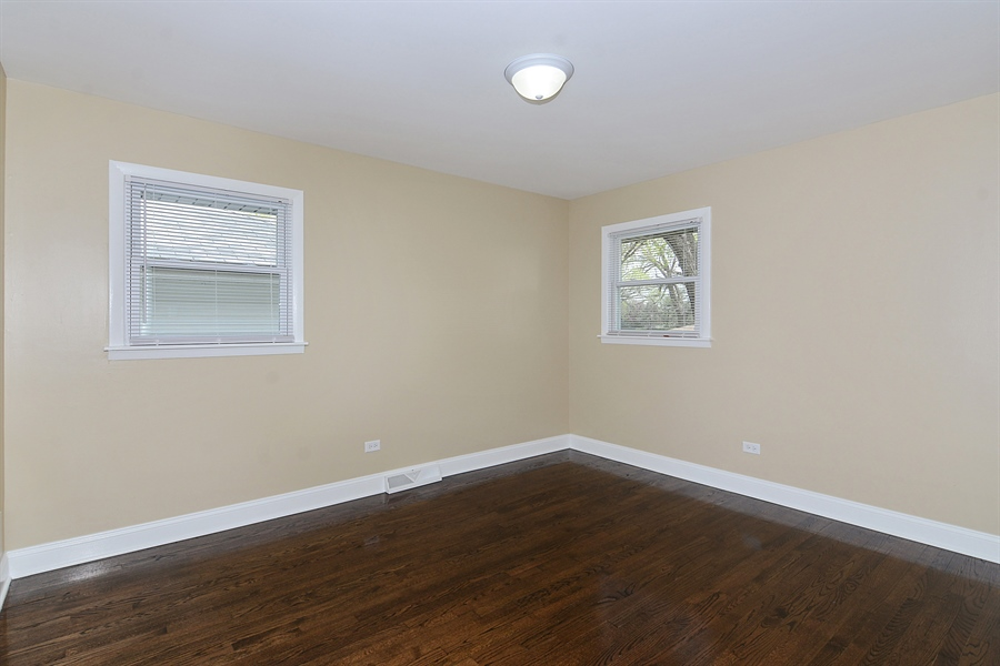 Real Estate Photography - 57 E 161st Pl, South Holland, IL, 60473 - Typical Bedroom