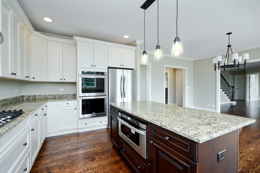 Real Estate Photography - 23245 Enclave Lane, Lot 25, Lake Barrington, IL, 60010 - Kitchen