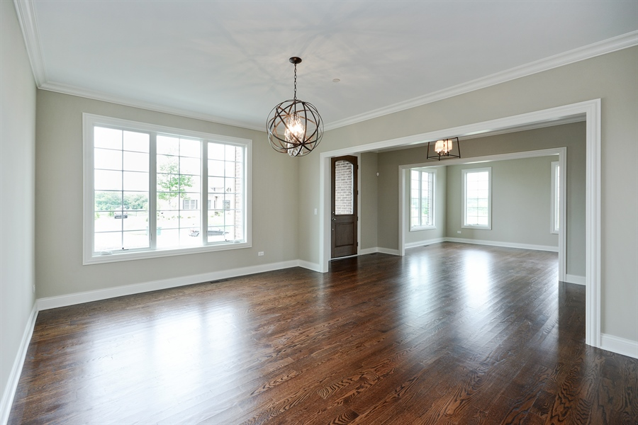 Real Estate Photography - 23245 Enclave Lane, Lot 25, Lake Barrington, IL, 60010 - Dining Room