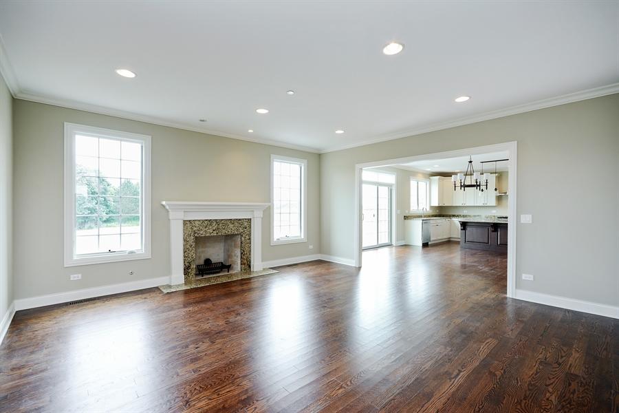 Real Estate Photography - 23245 Enclave Lane, Lot 25, Lake Barrington, IL, 60010 - Great Room