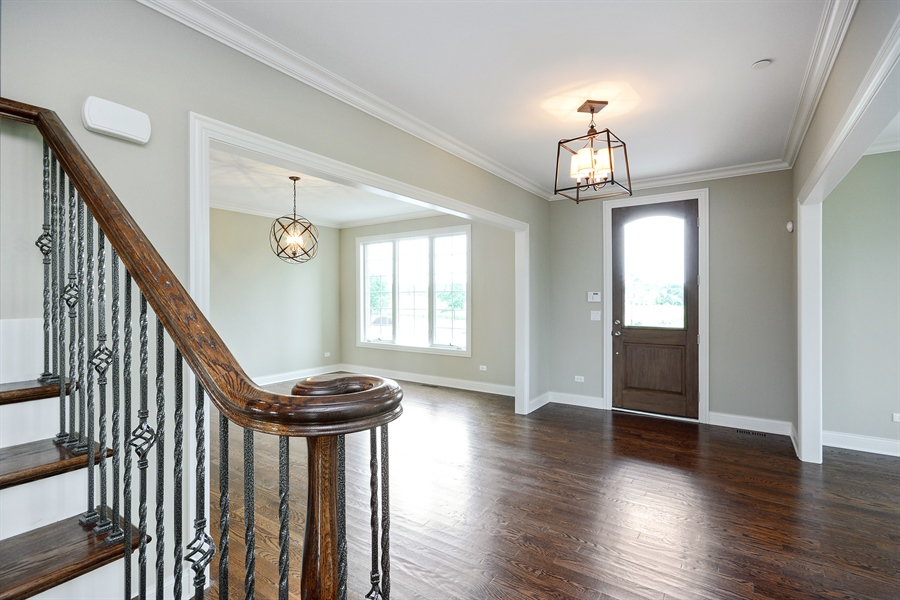 Real Estate Photography - 23245 Enclave Lane, Lot 25, Lake Barrington, IL, 60010 - Foyer