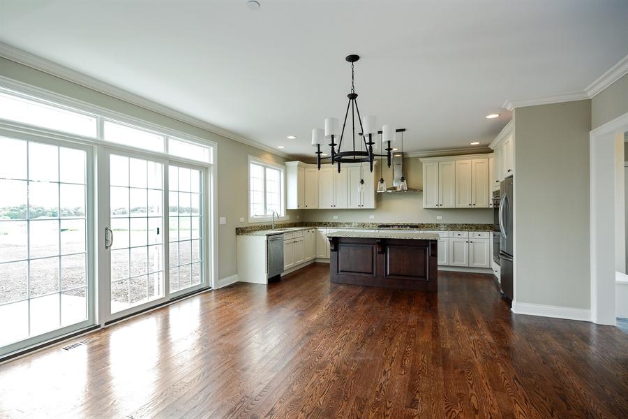 Real Estate Photography - 23245 Enclave Lane, Lot 25, Lake Barrington, IL, 60010 - Breakfast Area
